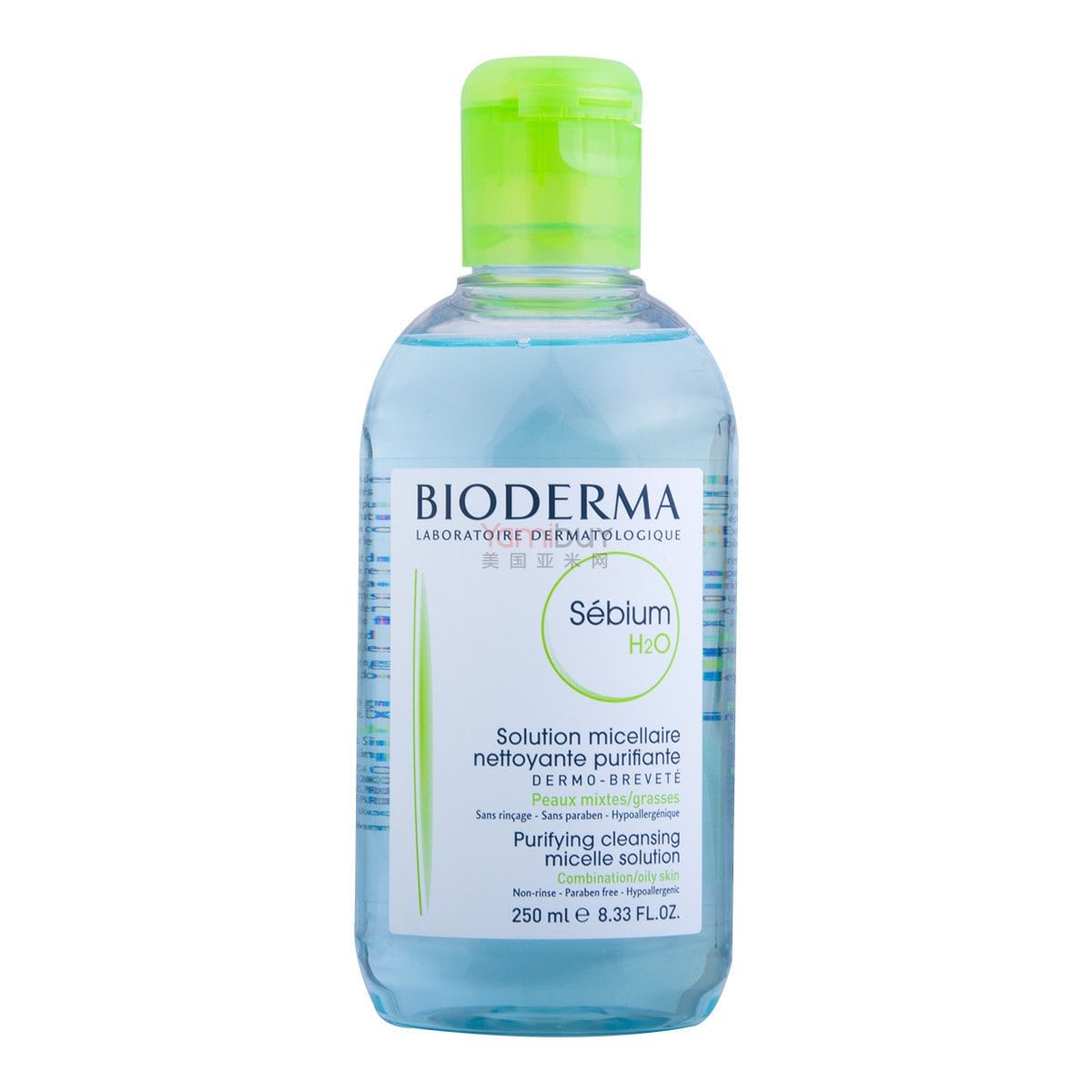 BIODERMA SEBIUM H2O Purifying Cleansing Micelle Solution 250ml
