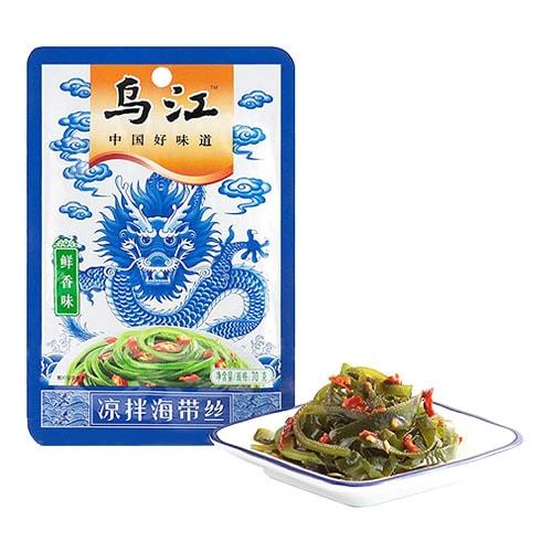 乌江 中国好味道 凉拌海带丝 鲜香味 70g