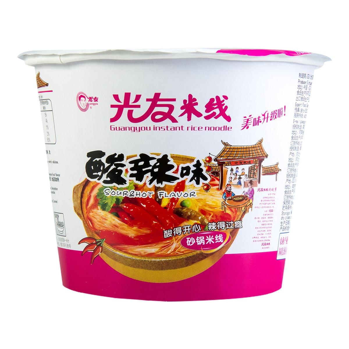 GUANGYOU Instant Rice Noodle Hot & Sour Flavor 100g
