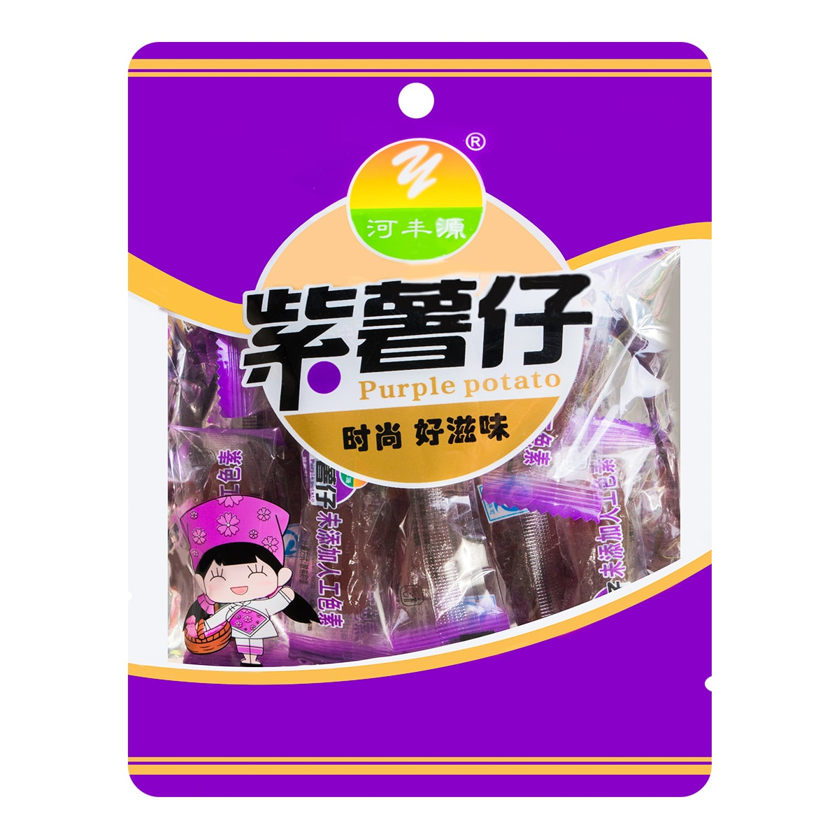 HEFENGYUAN Dried Purple Yam 150g