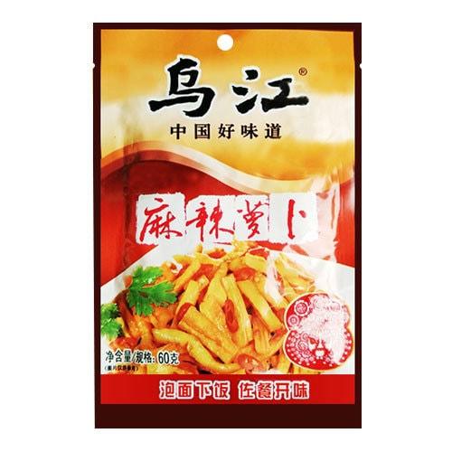 乌江涪陵榨菜 麻辣萝卜干 60g