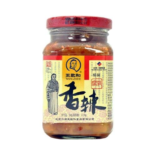 王致和 香辣腐乳 240g 中华老字号
