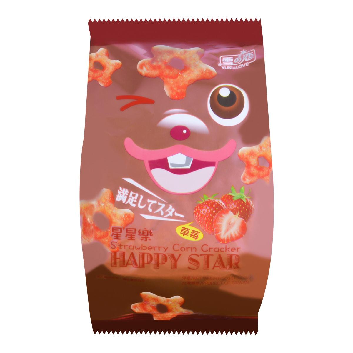 台湾雪之恋 星星乐 草莓味 55g