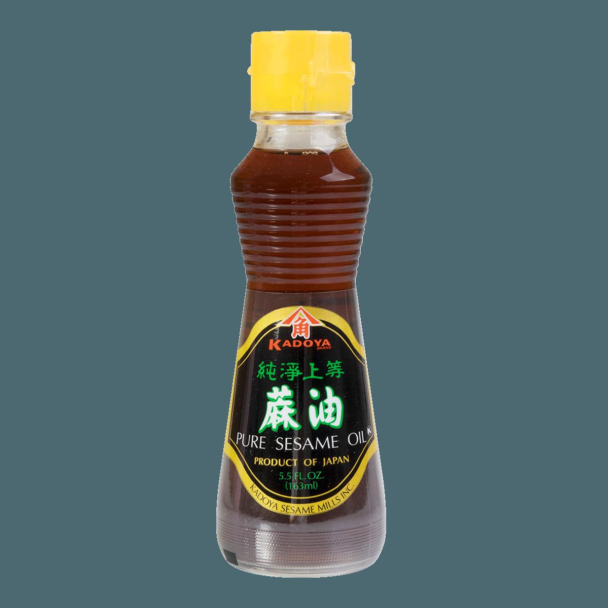 KADOYA Pure Sesame Oil 163ml