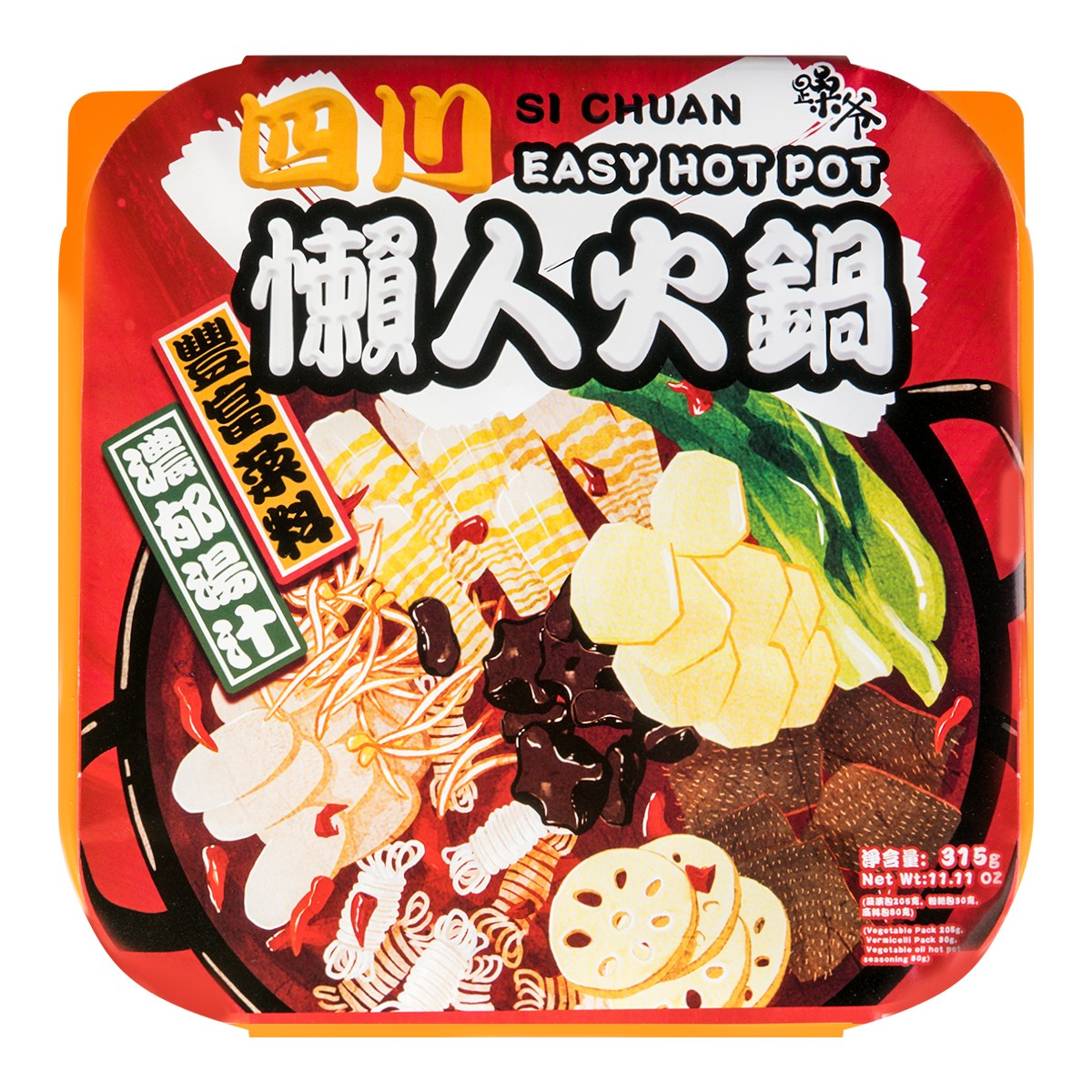 SI CHUAN Easy Hot Pot 315g