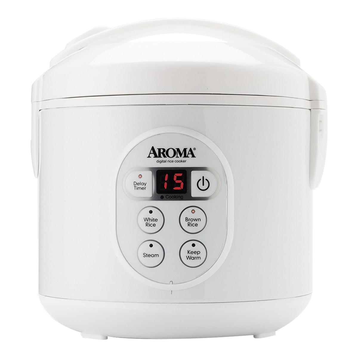 美国AROMA 数显电饭煲 8杯熟米容量 ARC-914D 2年制造商保修