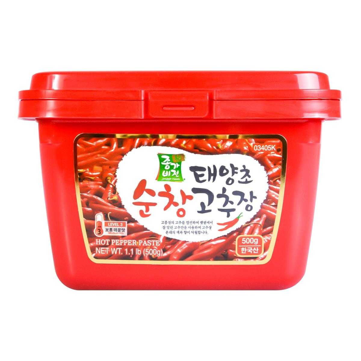 JONGGA VISION Hot Pepper Paste 500g