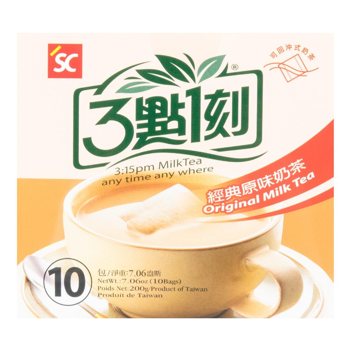 台湾三点一刻 经典原味奶茶 10包入 200g