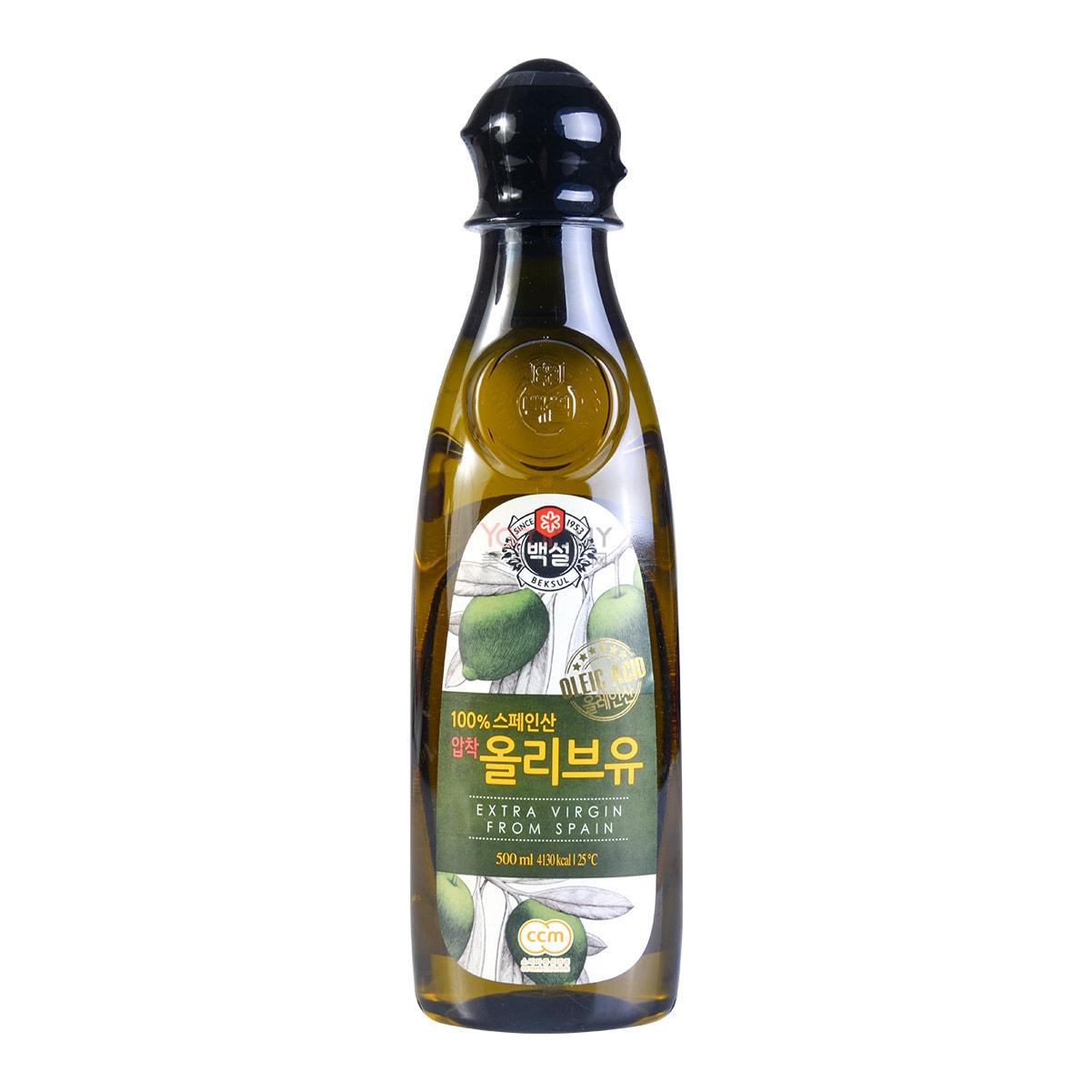 韩国CJ希杰 西班牙特级初榨橄榄油 500ml