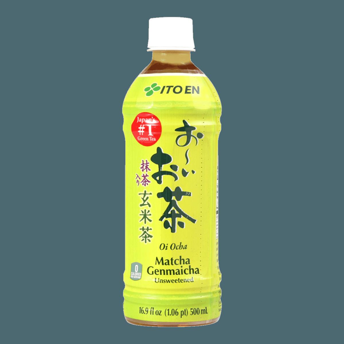 日本ITO EN伊藤园 无香料无糖玄米茶 500ml