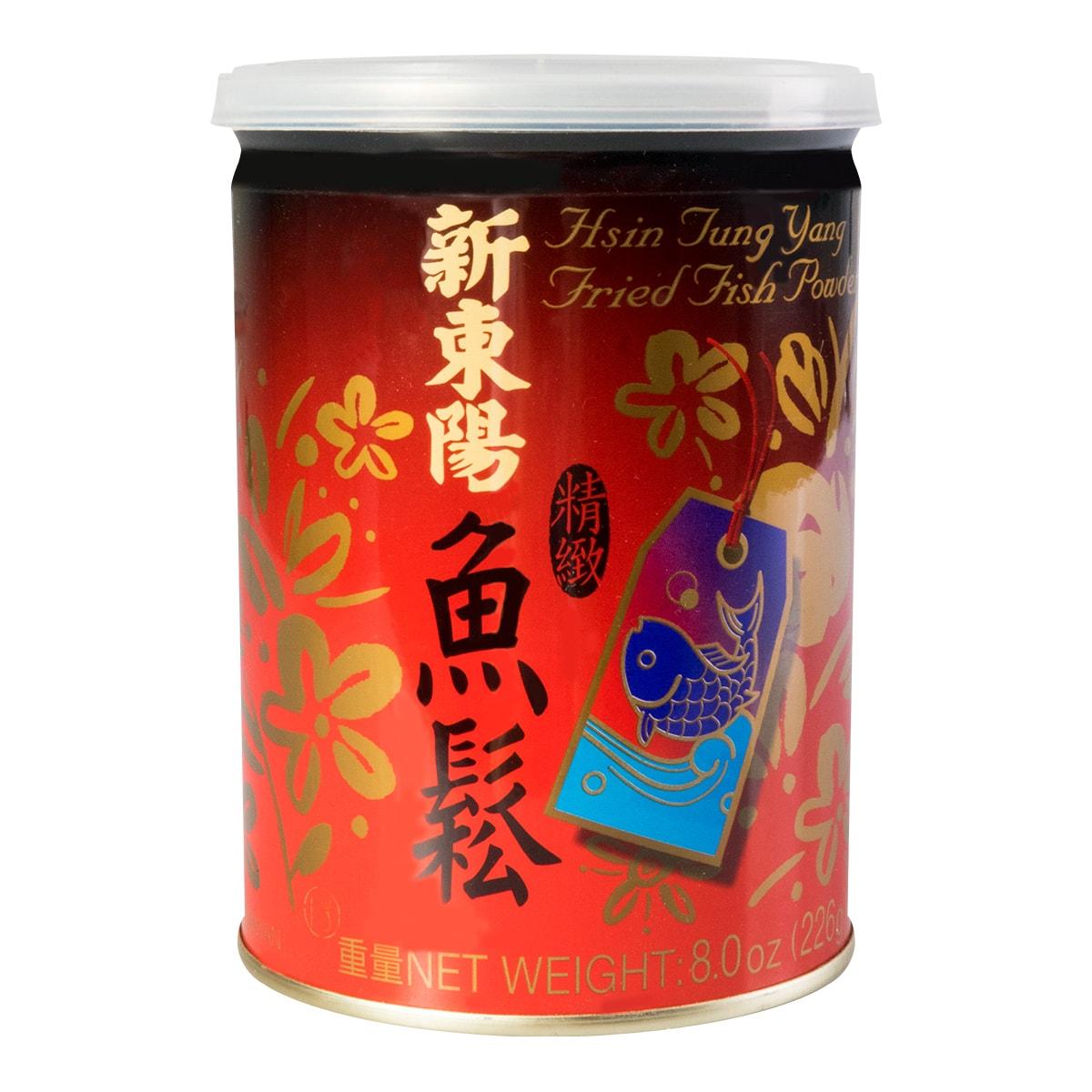 台湾新东阳 精致鱼松 铁罐装 226g