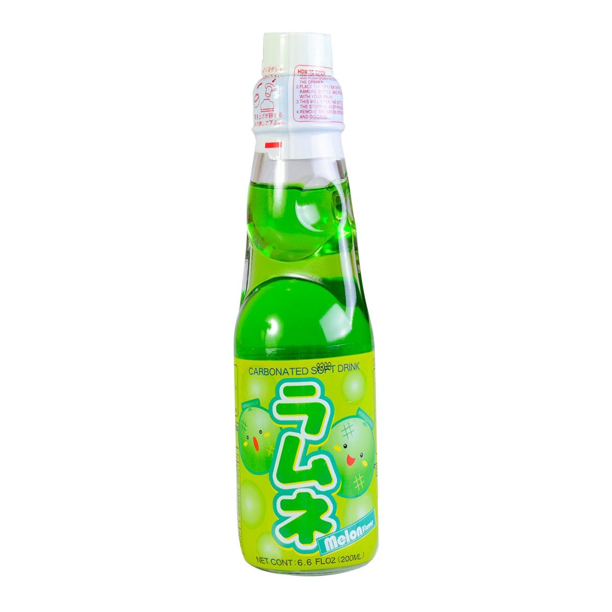 日本HATA RAMUNE 甜瓜味弹珠汽水 200ml