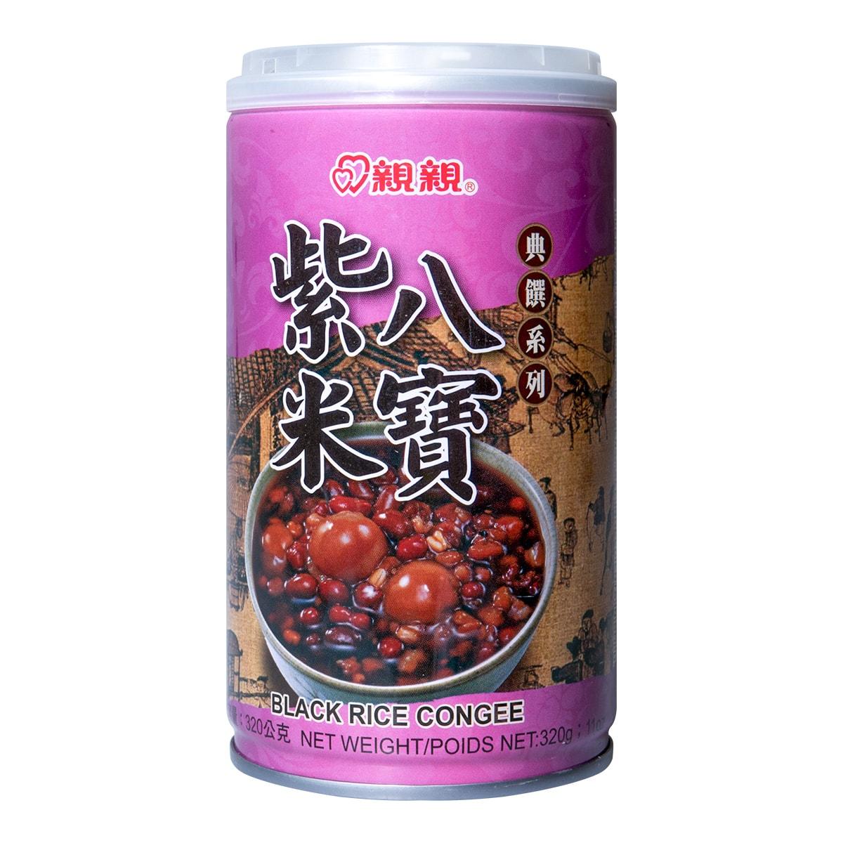 台湾亲亲 典选系列 紫米八宝粥 320g