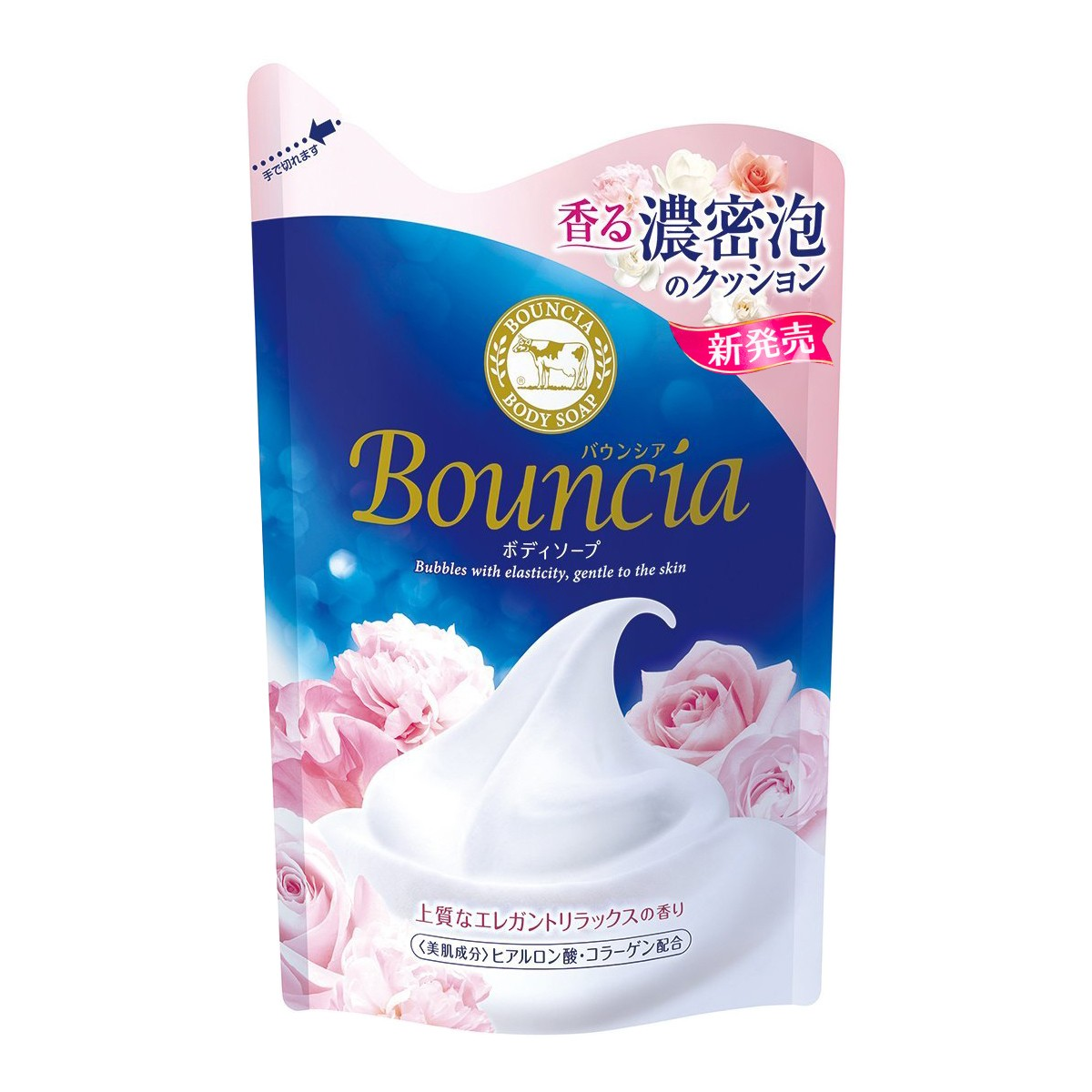 COW Bouncia Rose Body Soap Refill 430ml