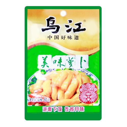 乌江 中国好味道 美味萝卜 60g
