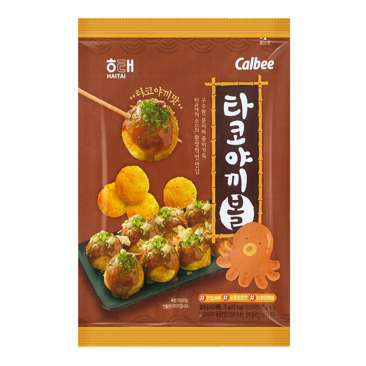 韩国HAITAI海太 章鱼小丸子球 70g