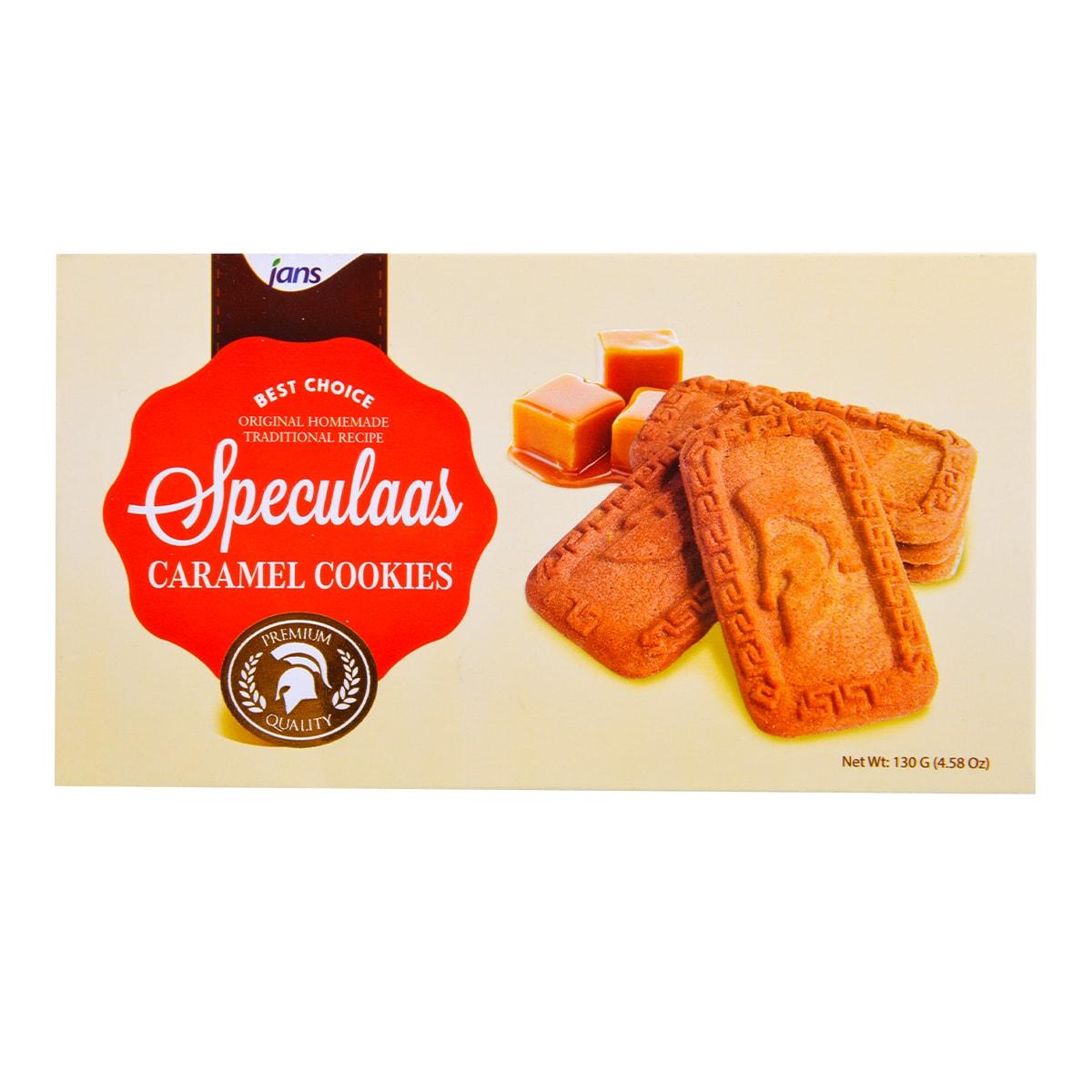印尼JANS 焦糖饼干 130g