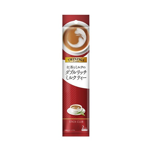 日本STICK CLUB TWININGS双倍浓郁红茶 2包入