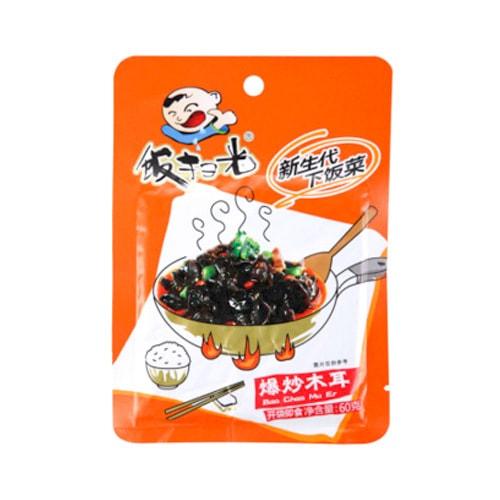 四川高福记 饭扫光 爆炒木耳下饭菜 60g