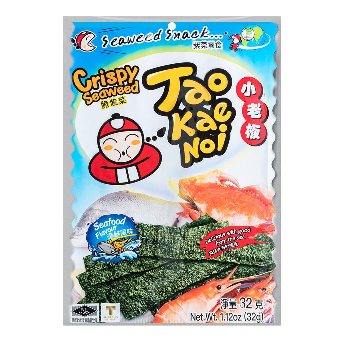 TAO KAE NOI Crispy Seaweed Seafood Flavor 32g