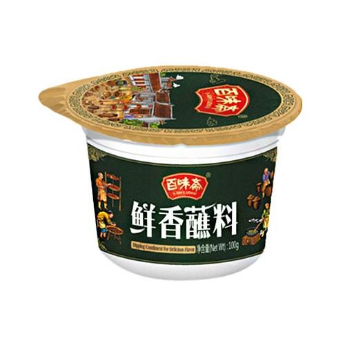 百味斋 火锅蘸料 鲜香味 100g
