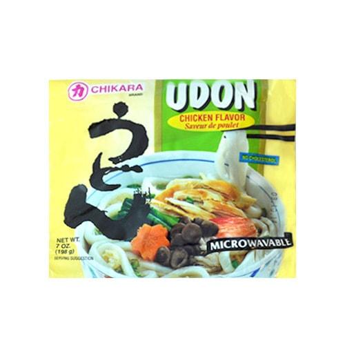 日本Chikara力牌 可微波乌冬面 鲜香鸡汤味 198g