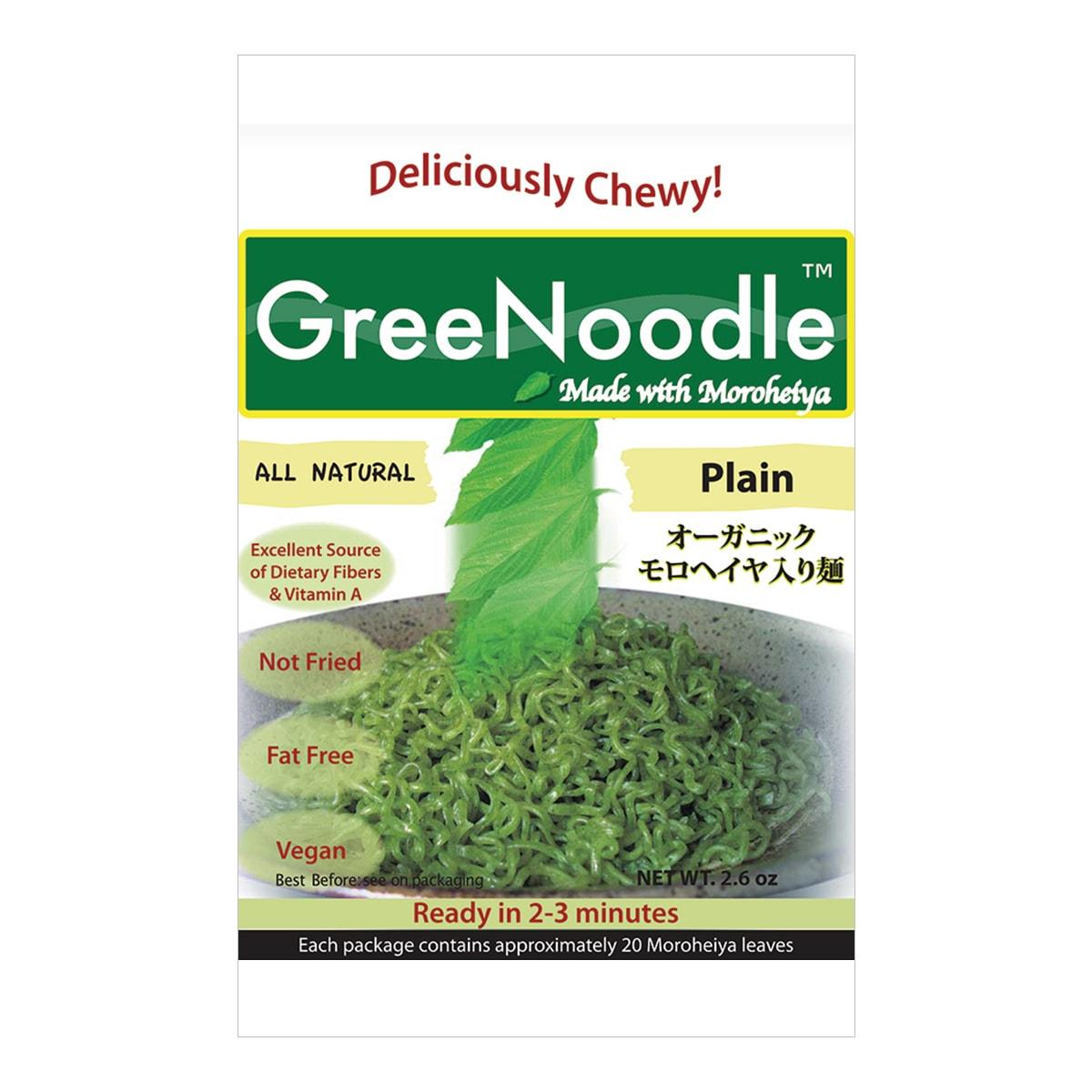 日本GREE NOODLE 有机野菜方便面 原味 100g