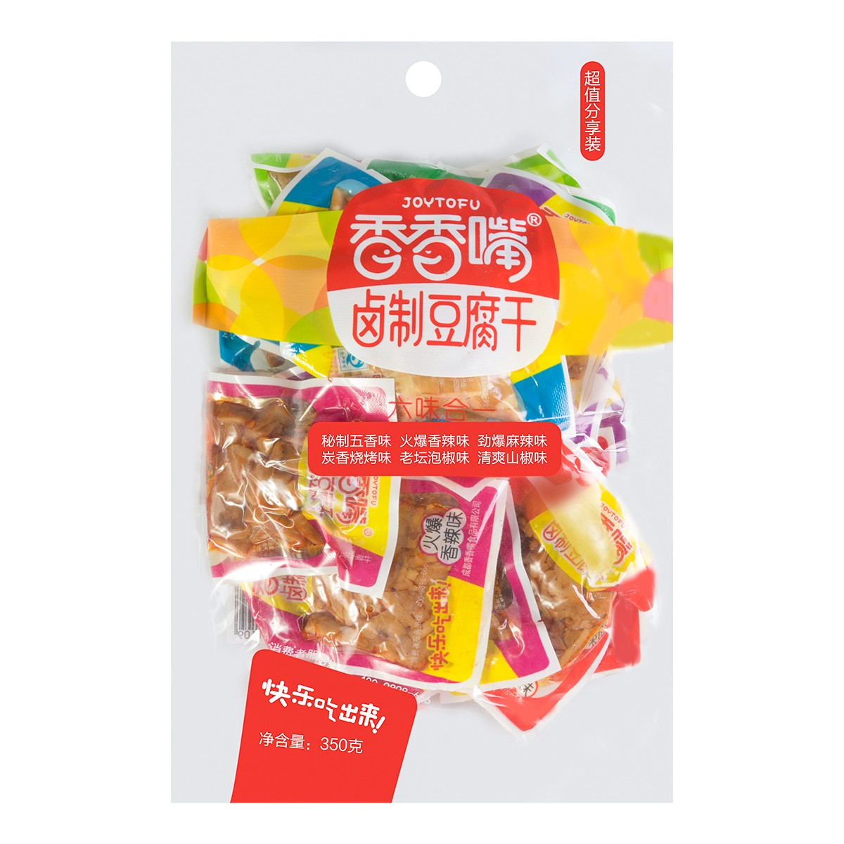 JOYTUFU Six Flavors Curds In One Pack 350g
