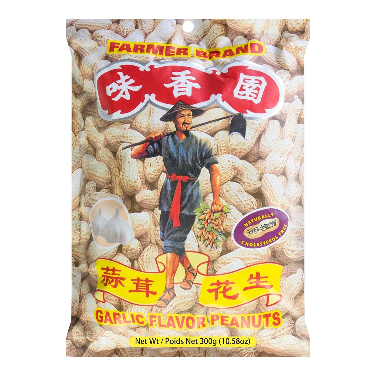 味香园 蒜茸花生 300g