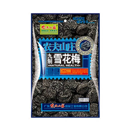 NONG FU SHAN ZHUANG Preserved Snowflake Plum 108g