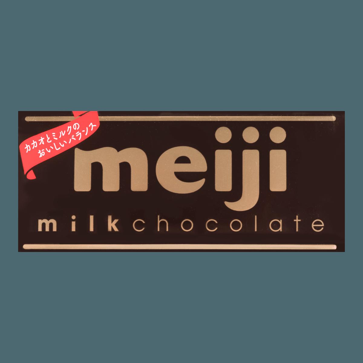 日本MEIJI明治 钢琴牛奶黑巧克力 50g