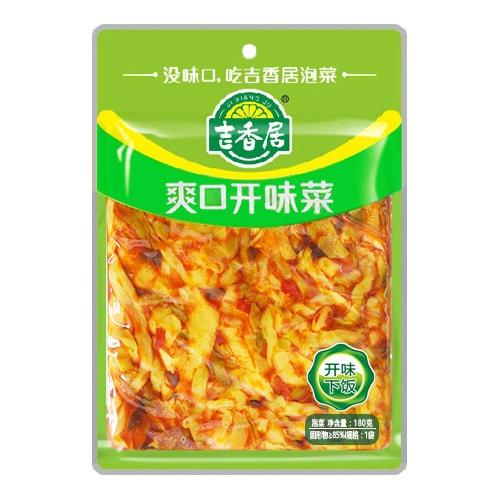 吉香居 即食小菜 爽口开味菜 180g