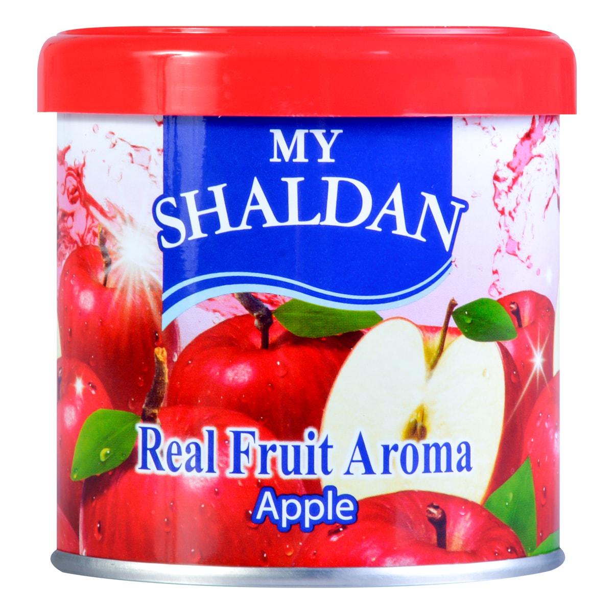 日本MY SHALDAN 汽车室内真正水果香气除臭剂 苹果 80g