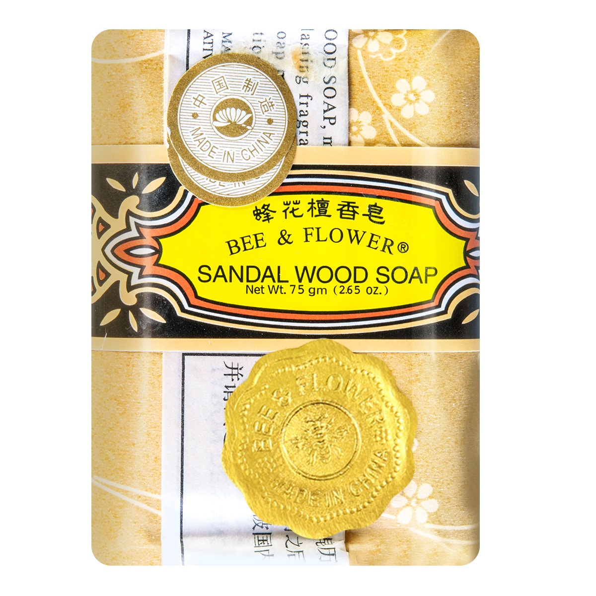 BEE & FLOWER Multi Purpose Soap Sandalwood 75g