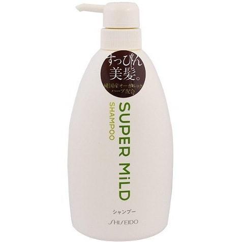 日本SHISEIDO资生堂 SUPER MILD 超柔和自然美发洗发水 600ml