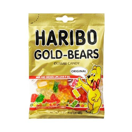 德国HARIBO哈瑞宝 经典小熊果味软糖QQ糖 142g