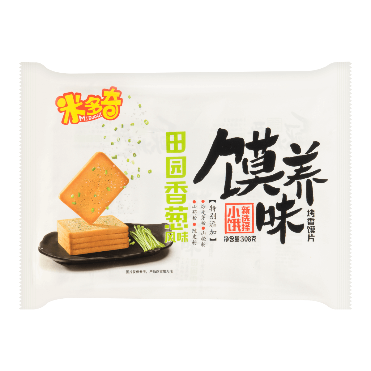 MDQ-Toasted Bread Slice (Green Onion Flavor) 308g
