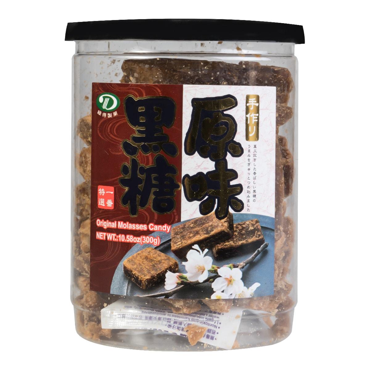 台湾綠得製菓 补血美容原味黑糖 300g