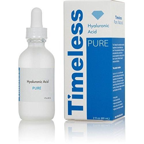 美国Timeless HA玻尿酸精华液补水滋润保湿不粘腻 60ml
