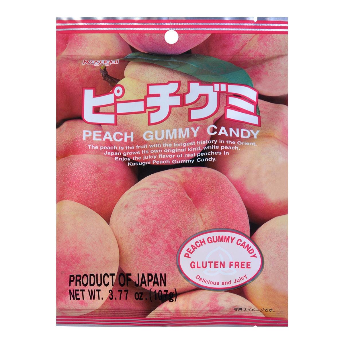 日本春日井 水果QQ软糖 白桃味 107g
