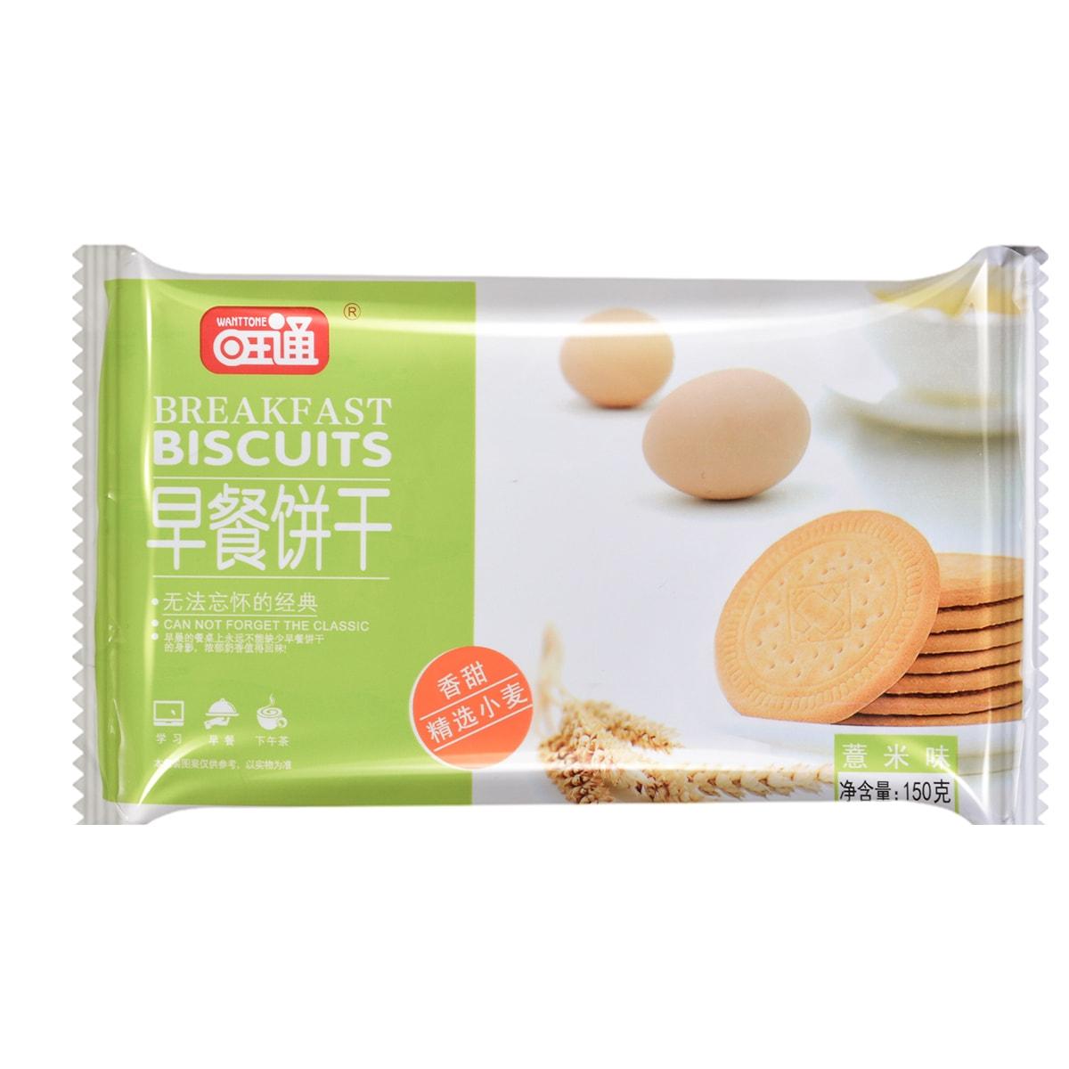 旺通 早餐饼薏米味 150g
