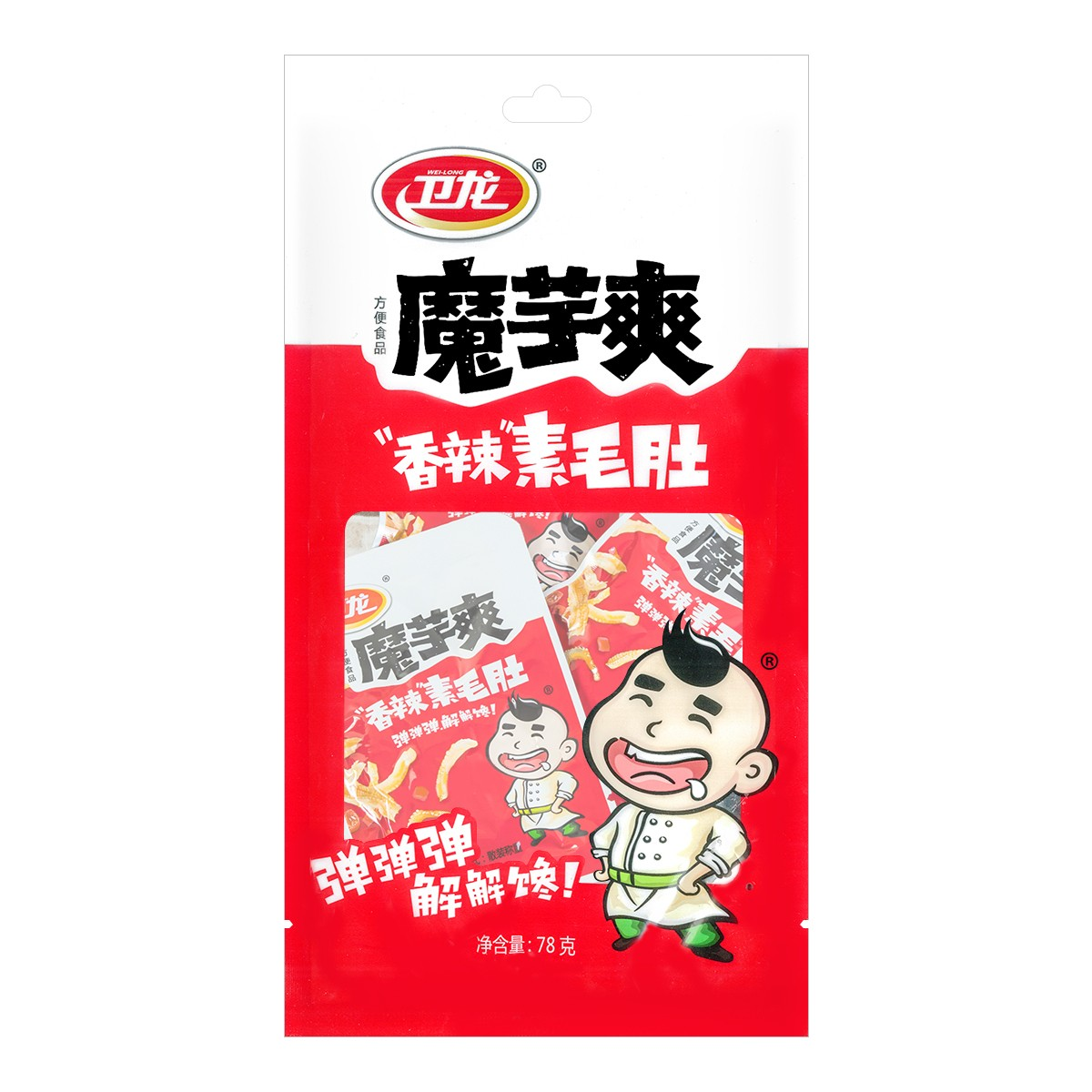 WEILONG Hot Konjac Spicy Flavor 78g