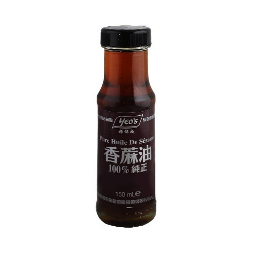 【Clearance】YEO'S 100% Pure Sesame Oil 150ml