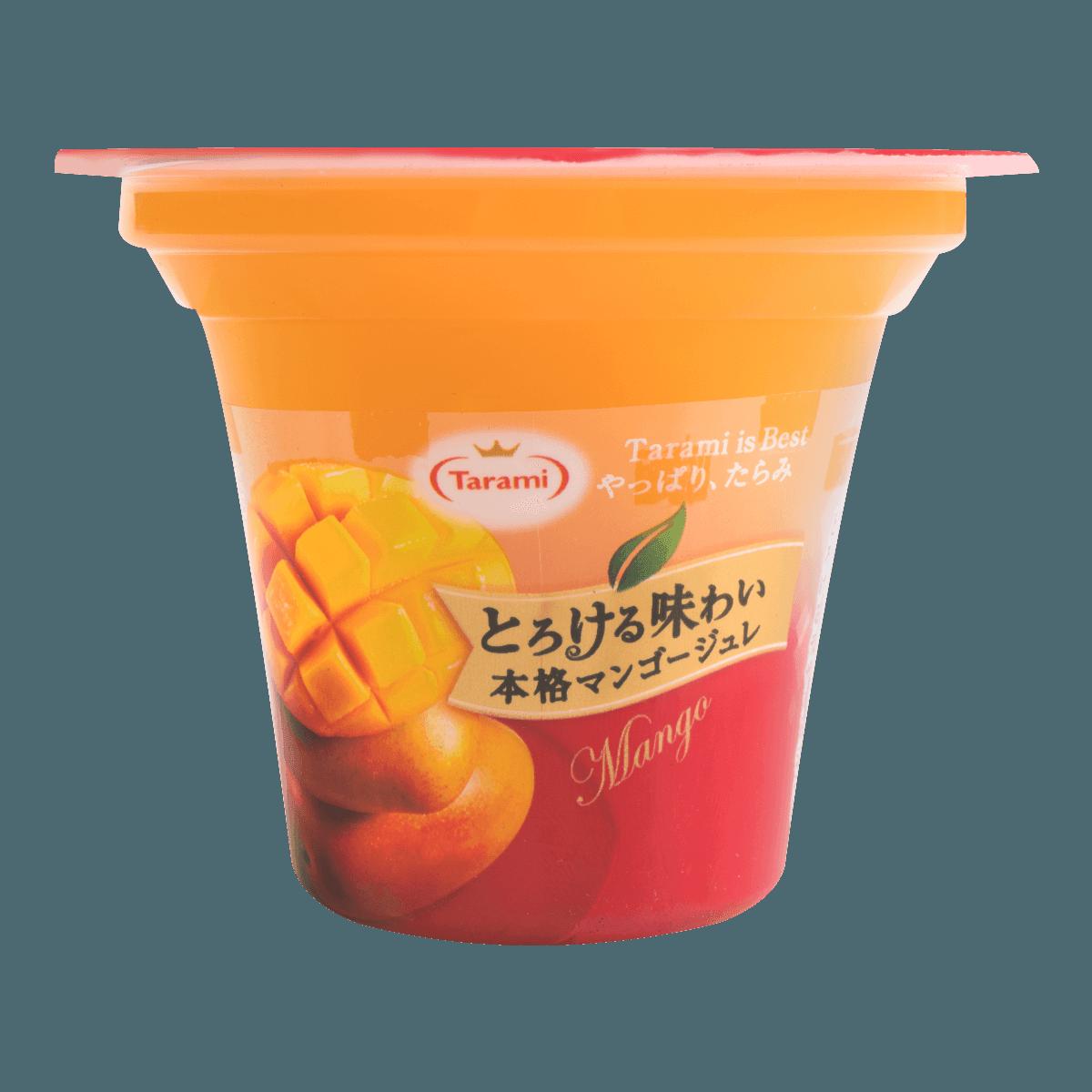 日本TARAMI 味系列 芒果果肉果冻 210g