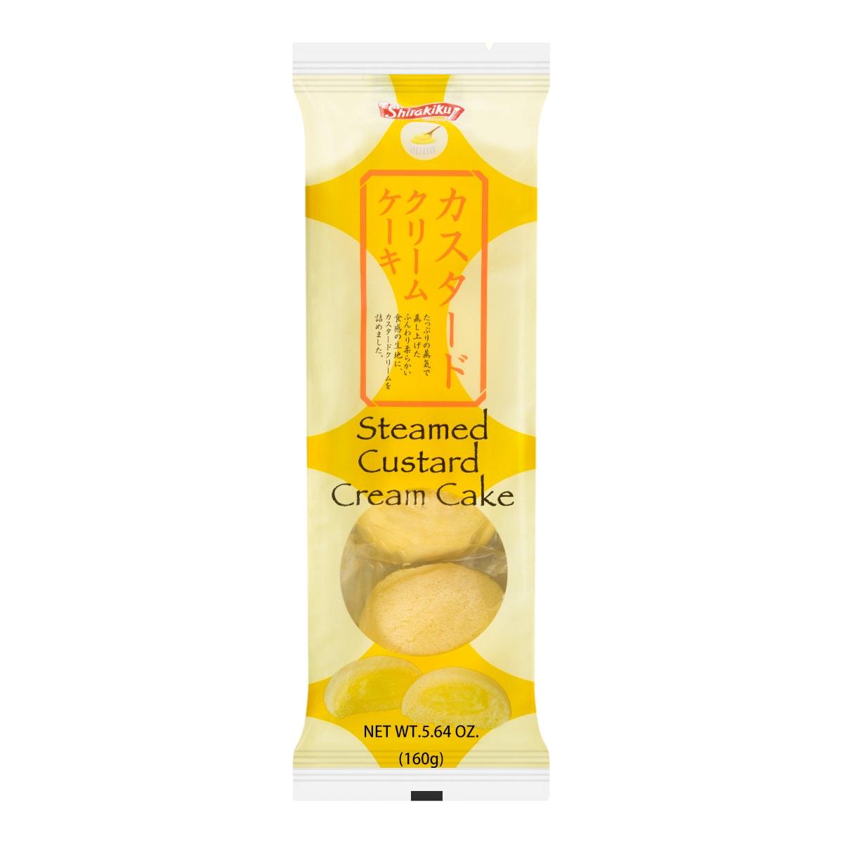 日本SHIRAKIKU赞岐屋  纯正奶油味铜锣烧 160g