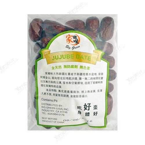 家乡味 全天然特级新疆红枣 170g