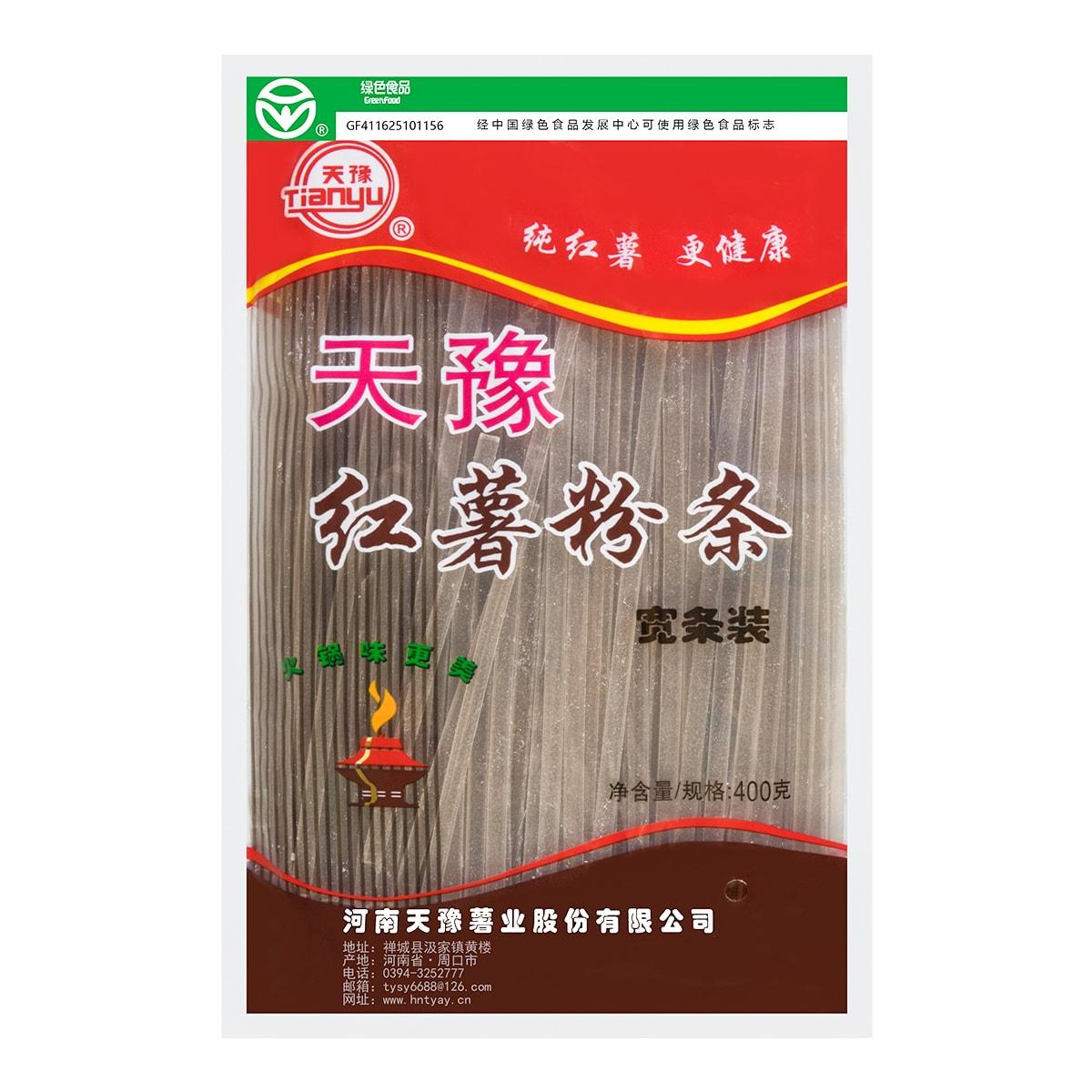 天豫 红薯粉条 宽条装 400g USDA认证