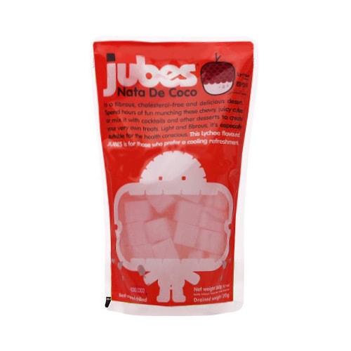 印尼WONG COCO JUBES 椰果粒 荔枝味 360g