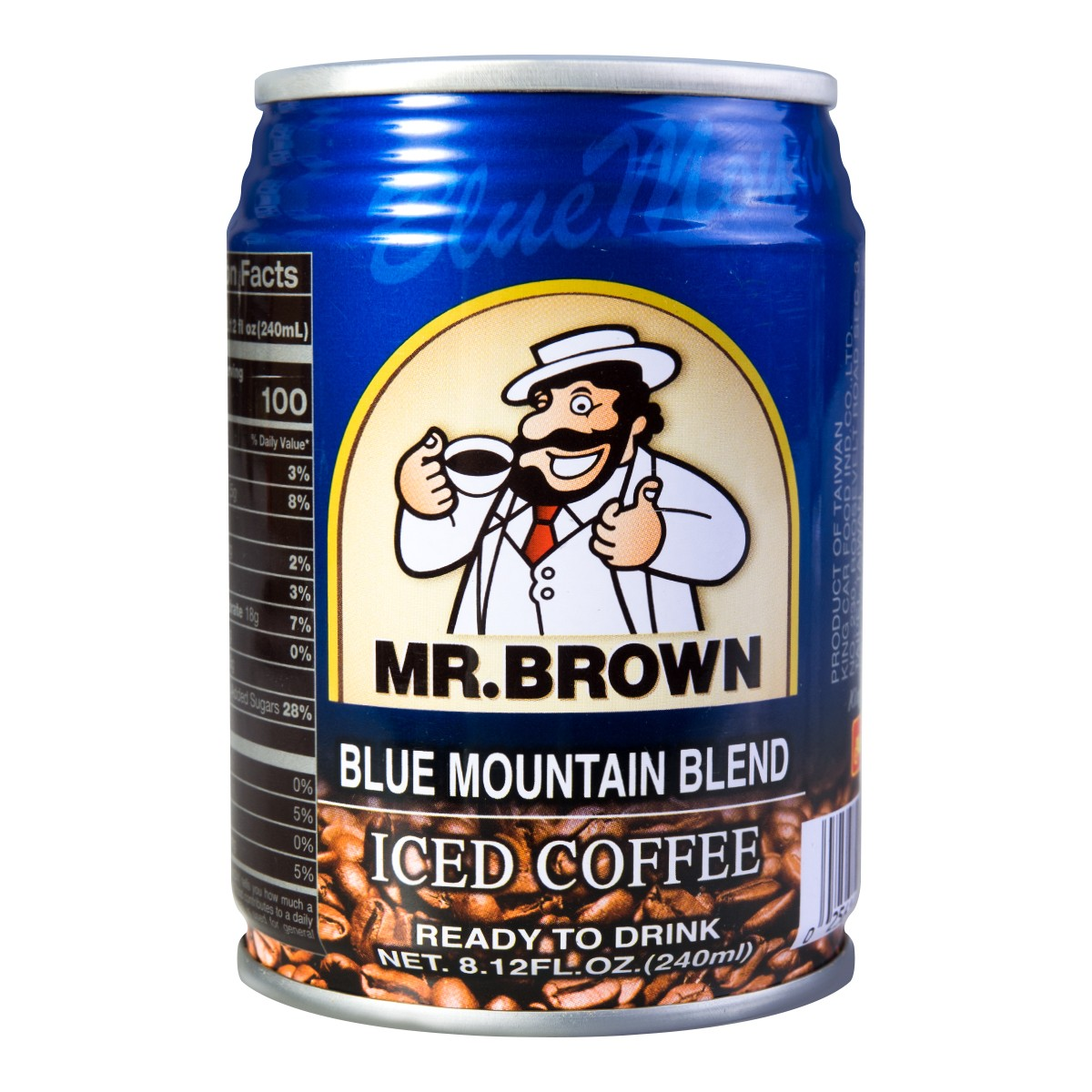 MR BROWN Coffee Blue Mountain Style 240ml