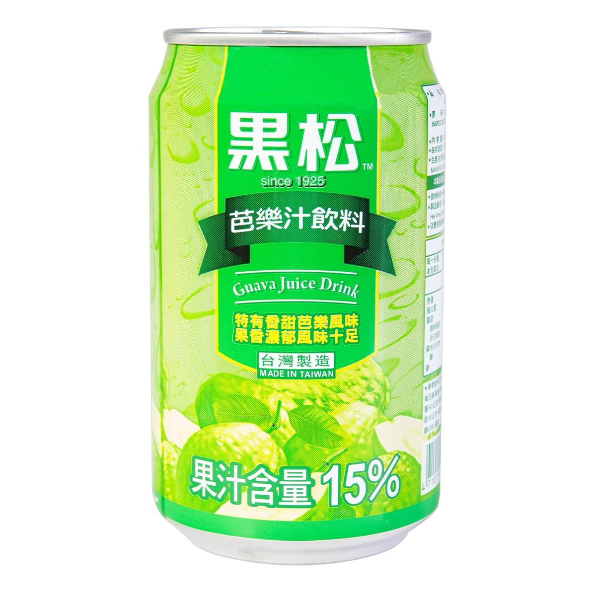 台湾黑松 芭乐汁饮料 320ml